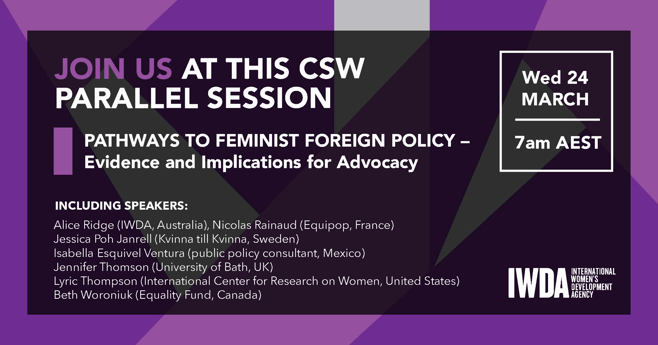 Feminist Foreign Policy_Facebook_Speakers - Alice Ridge.png