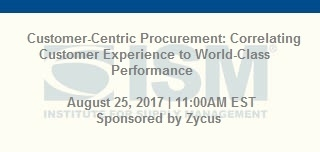 Customer-Centric Procurement: Correlating Customer Experience to World-Class Performance