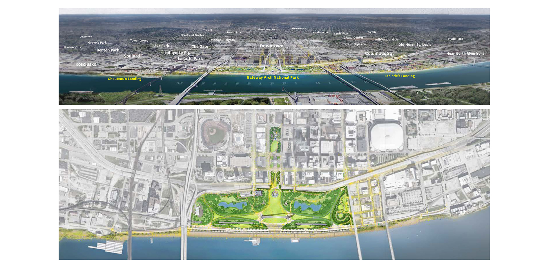 The CityArchRiver Project