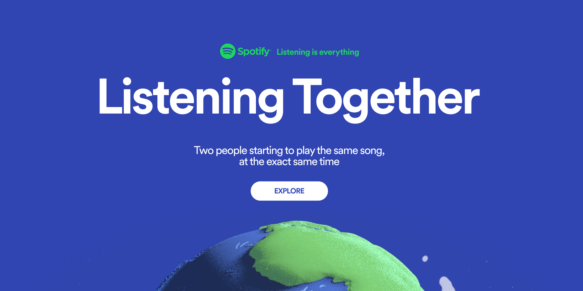 Watch two musical soulmates connect from across the world with Spotify's Listening Together