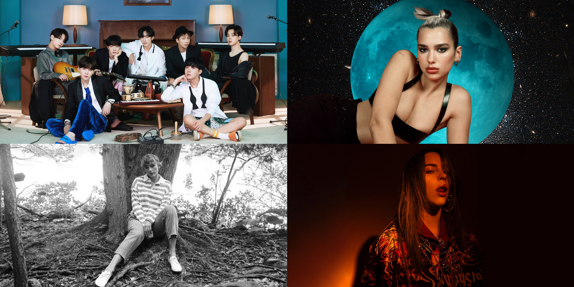 63rd Grammy Awards announce nominees, Taylor Swift, BTS, Dua Lipa, Billie Eilish, and more - see complete list