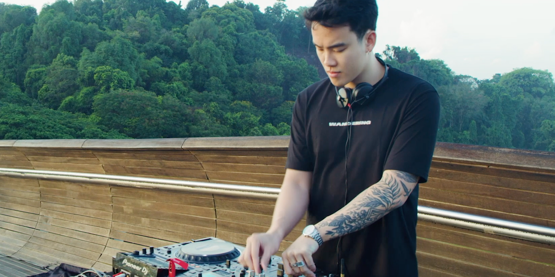 MYRNE captivates in live set at Singapore's Henderson Waves in second episode of new video series – watch