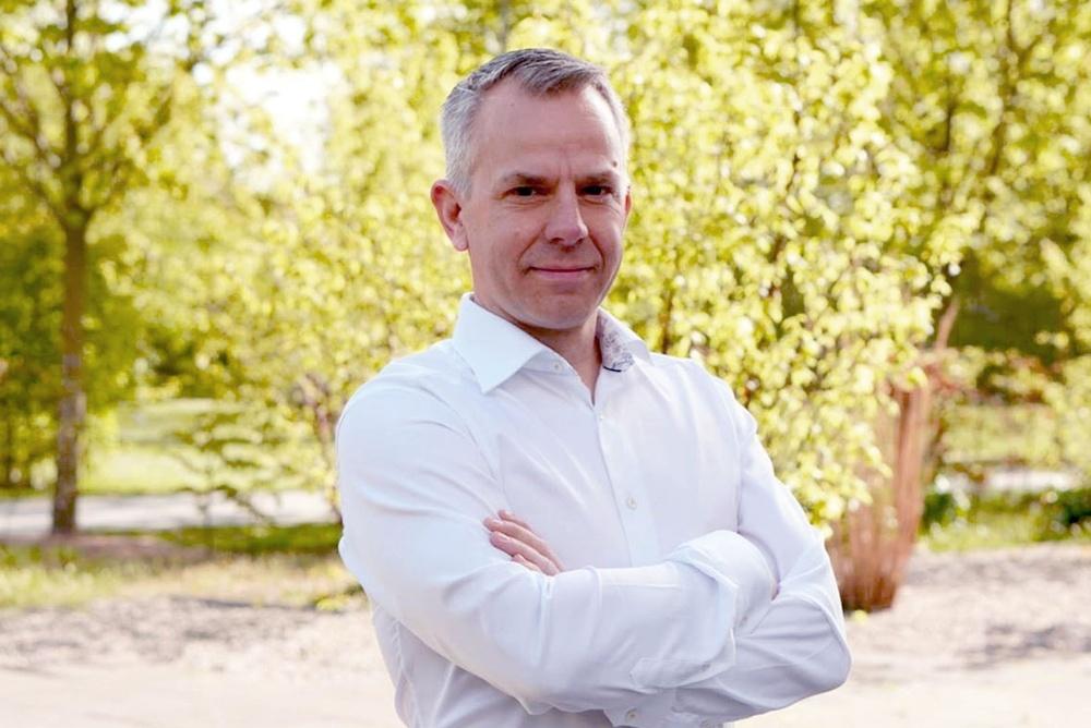 Nils Pärletun - Sales & Marketing Director Sweden