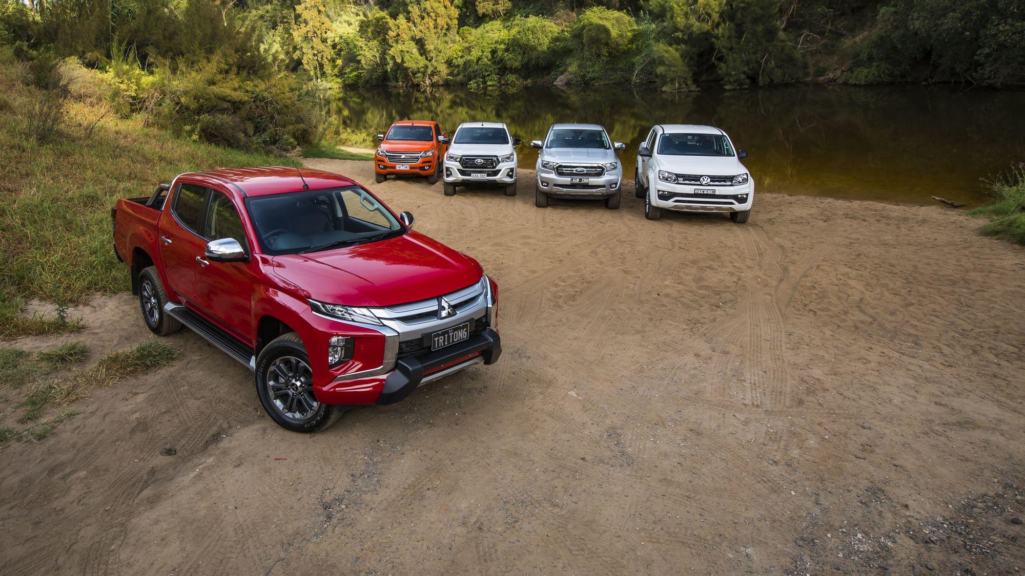 Dual-cab comparo: Ranger v Hilux v Triton v Colorado v