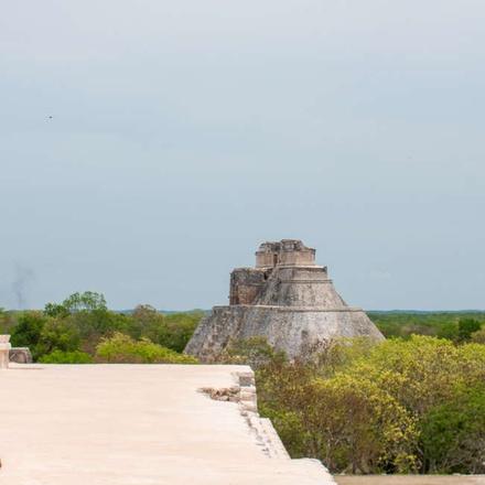 Mayan city of Uxmal