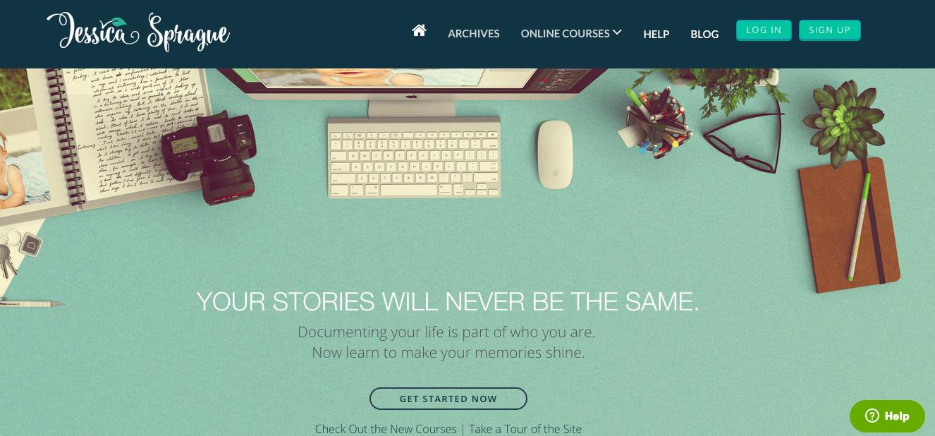 jessica sprague homepage teach online