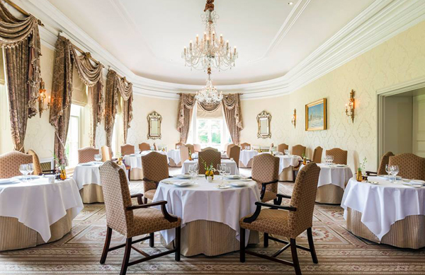 Lucknam Park dining room