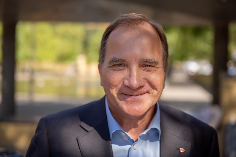 Stefan Löfven. Foto: Martin Hörner Kloo