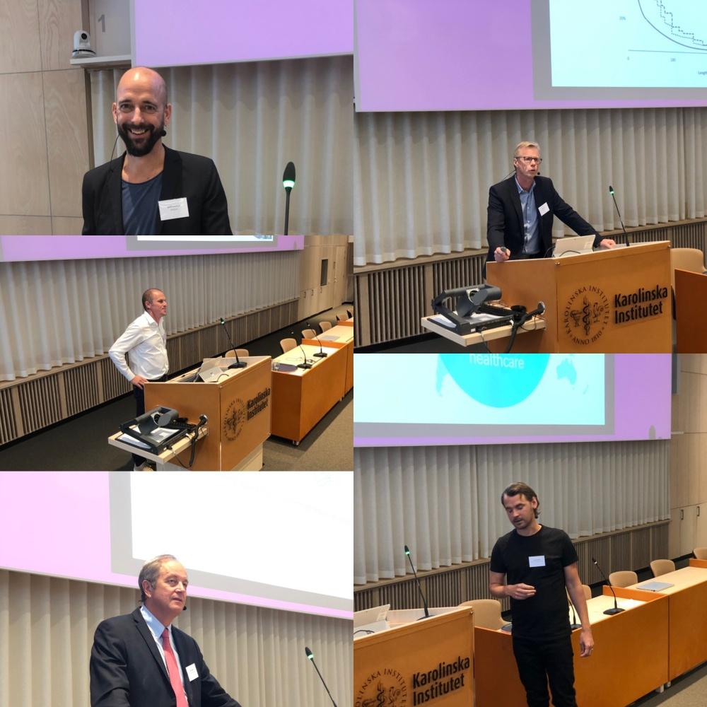 Dagens talare: Björn Nordlund (KI&KUH), Rikard Wedin (KI&KUH), Anders Nordell, Olle Ljungqvist (KI), Linus Kullänger (KI)