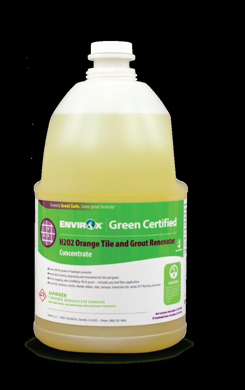 Envirox 'H2O2 Orange Tile & Grout Renovator'