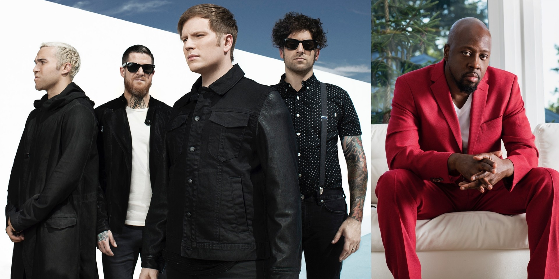 Fall Out Boy shares new song with Wyclef Jean, 'Dear Future Self (Hands Up)', announces new greatest hits album
