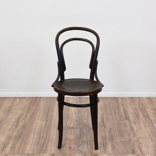 Antique Bentwood Chair W/ Steam Pressed Seat