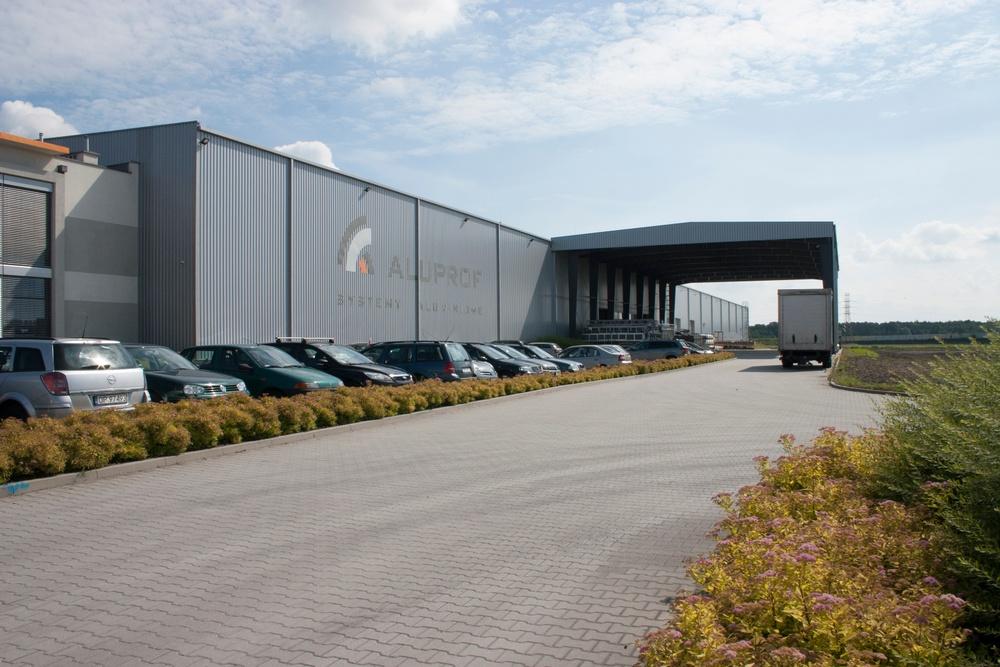 Aluprof warehouse outside