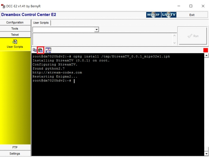 Setup IPTV using XtreamTV plugin in Enigma 2