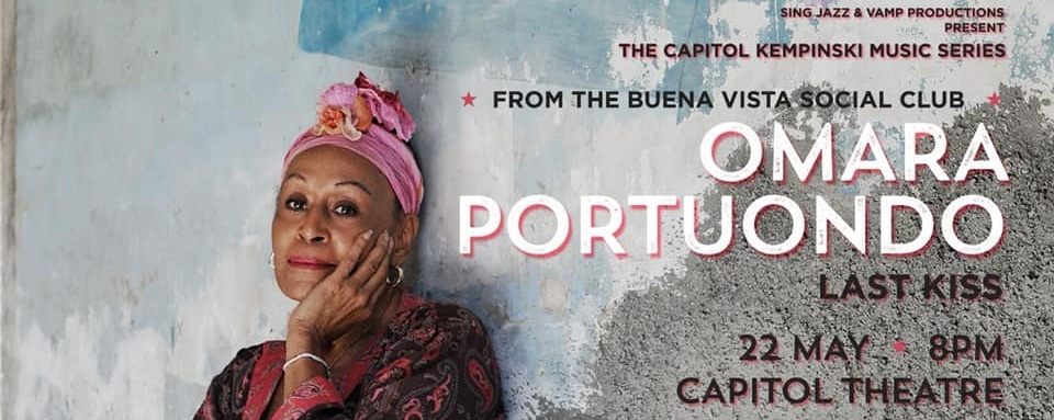 Omara Portuondo presented by Sing Jazz & Vamp Productions