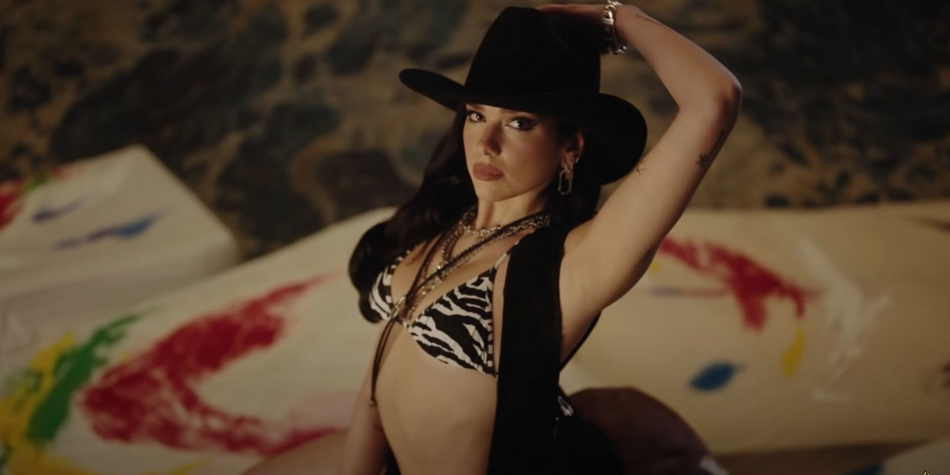 Dua Lipa serves rodeo glam in 'Love Again' video, drops 'CAN THEY HEAR US' for 'Gully' soundtrack