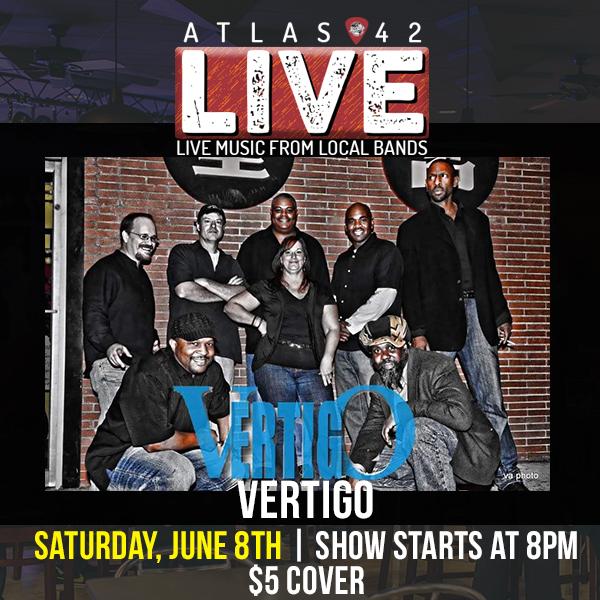 Atlas 42 - Vertigo - June 8, 2019, 8pm