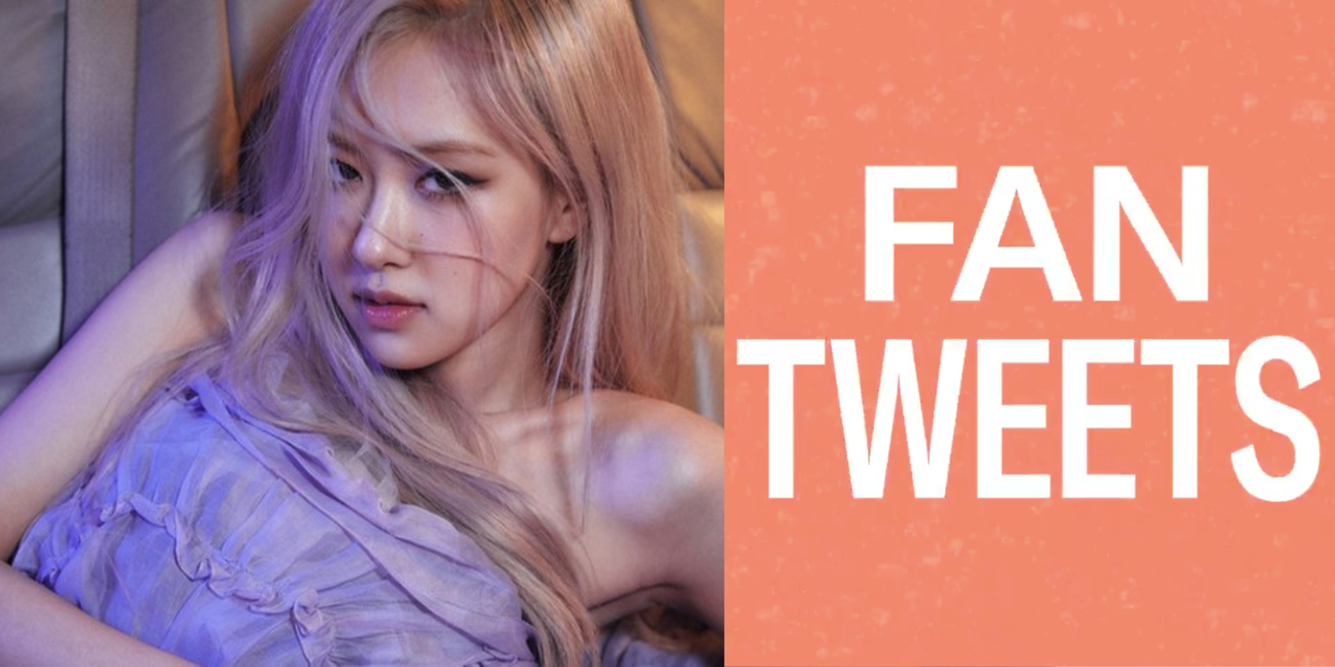BLACKPINK's ROSÉ chats about life, performing, and her dog on Twitter's #FanTweets