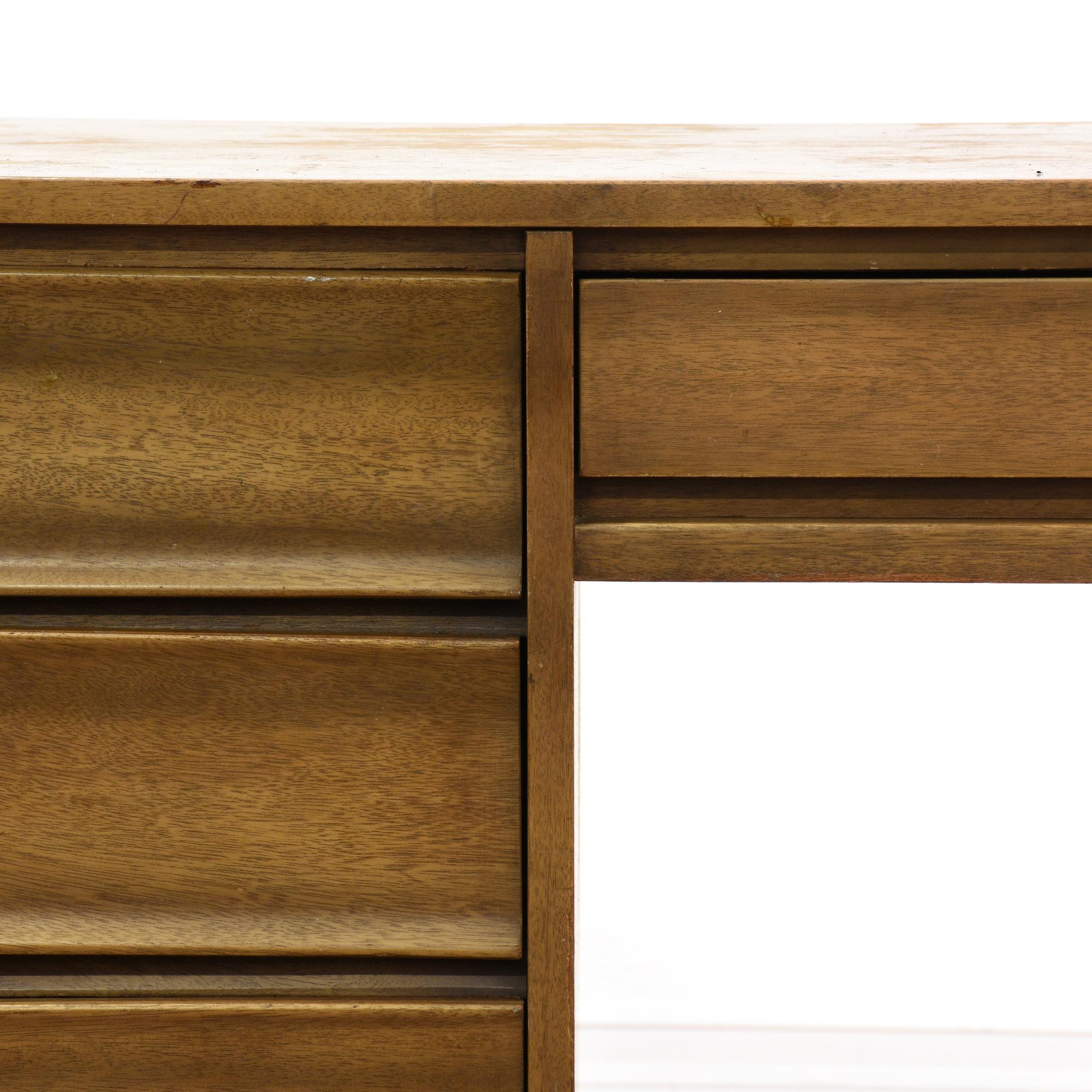 United mid century modern desk loveseat vintage for Mid century modern la