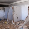 Synagogue Interior 1, Tomb and Synagogue, Al-Hammah, Tunisia, Chrystie Sherman, 7/13/16