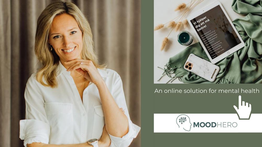 Sofia Allberg, CEO & Founder of Moodhero
