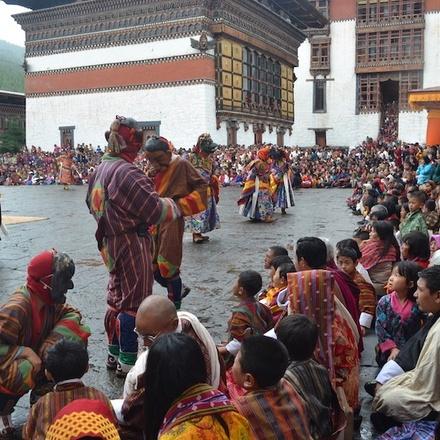Colourful Festival of Bhutan