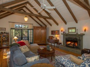 Set on a sunny knoll with breathtaking views of the Ojai Valley and Topa Topa, this Myron Hunt designed Swiss Chalet is a beautifully restored classic!