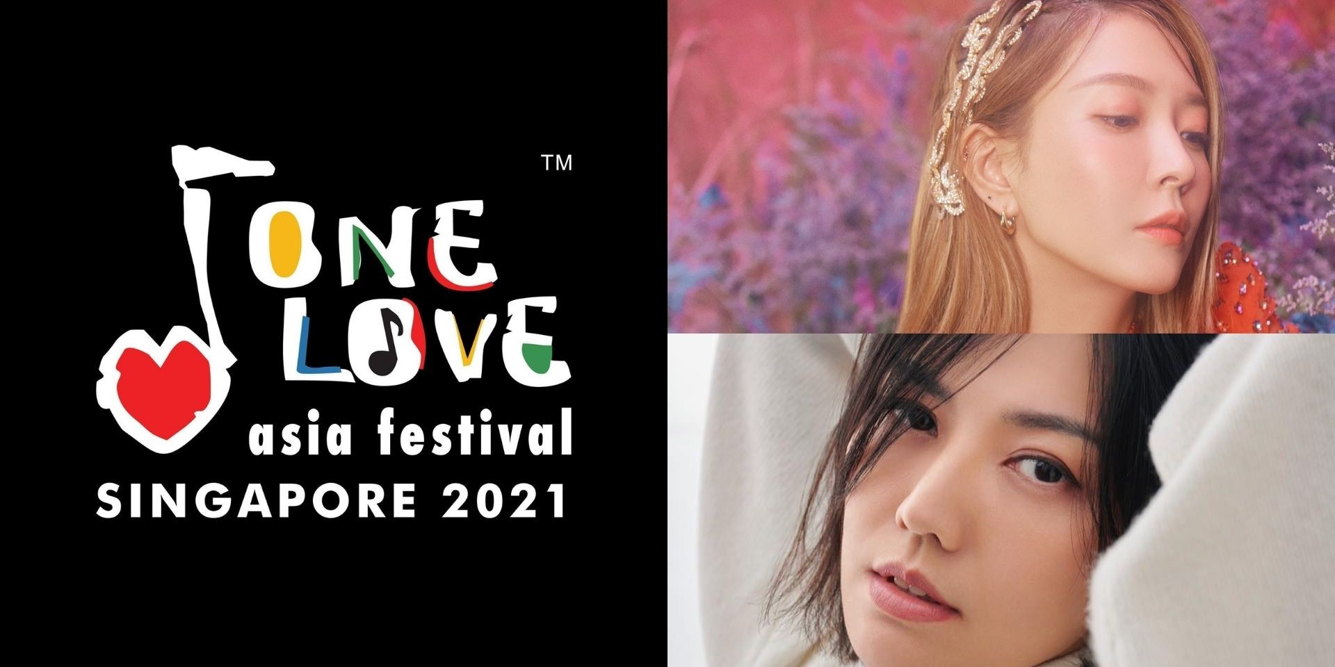 One Love Asia Festival 2021 featuring Stefanie Sun and BoA announces cancellation