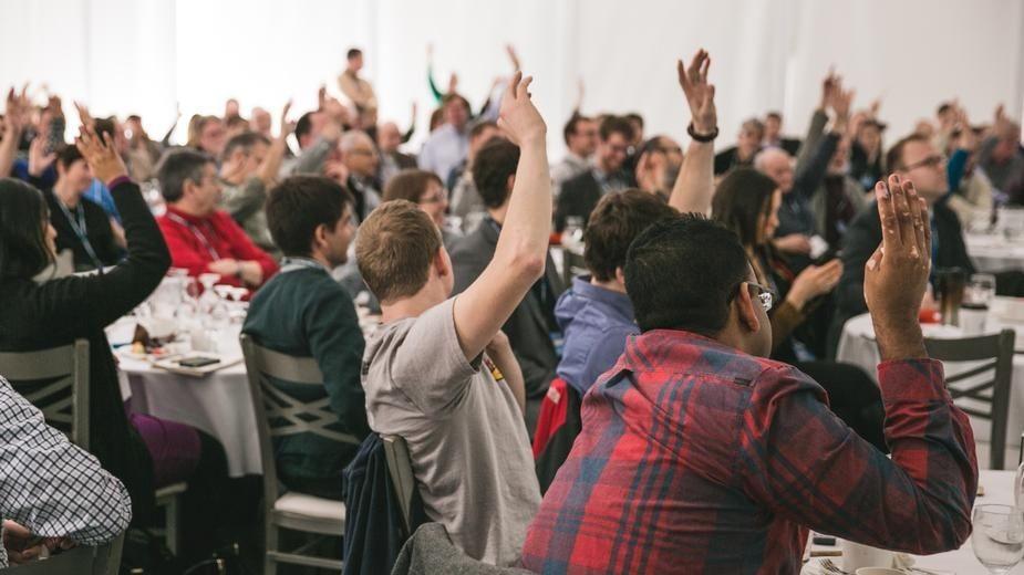 Représentation de la formation : Prendre la parole en public pour les cadres et les managers de projets - Eric Blanc