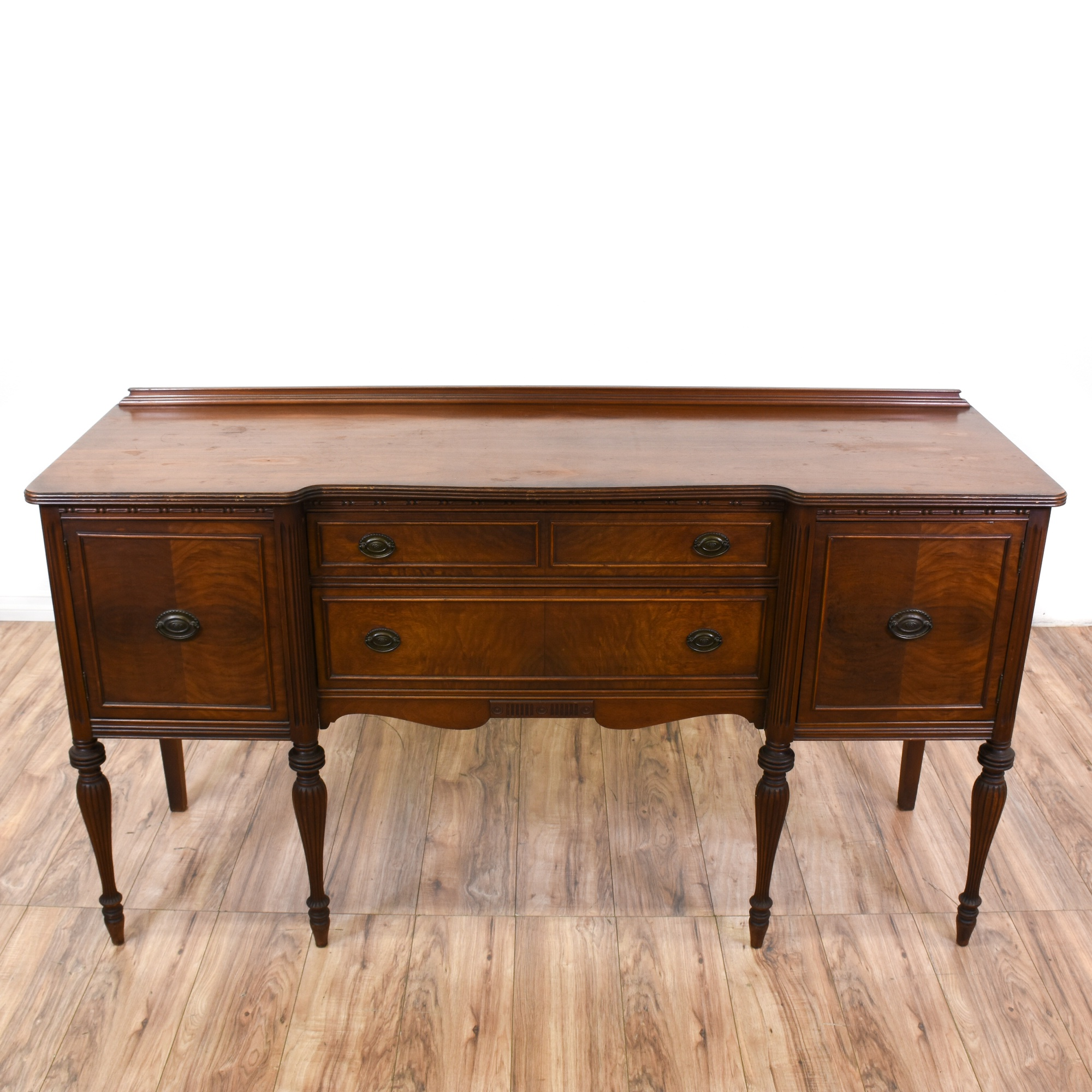 Neoclassical Antique 3 Drawer Sideboard Buffet Loveseat Vintage Furniture San Diego Amp Los Angeles