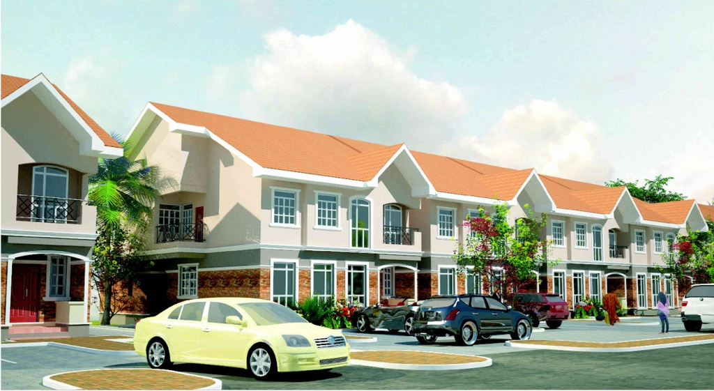 4 Bedroom Terrace Duplex Exterior