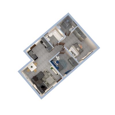 55sqm Unit 2-Bed
