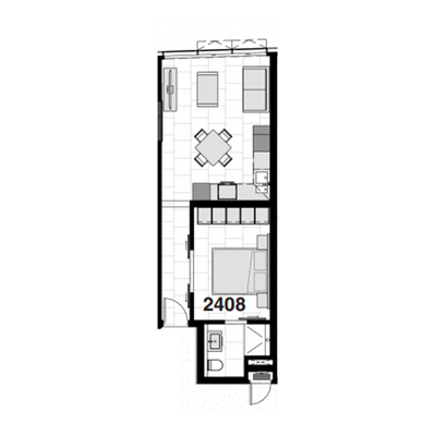 43sqm Unit 2