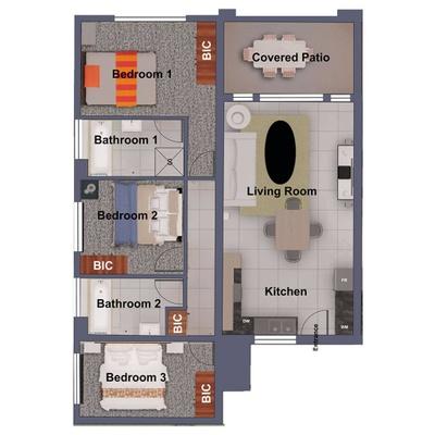 Block A - Ground Floor - A1