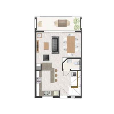 91sqm Duplex