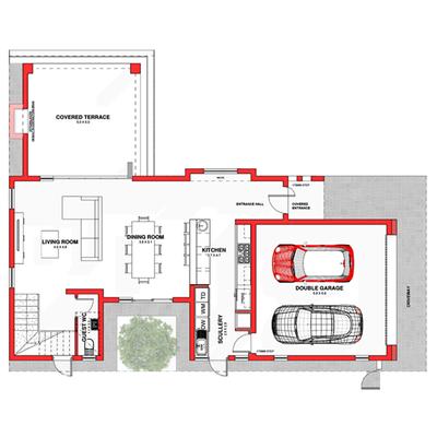 Type B1 (double storey)