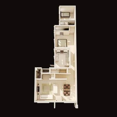 4 Bedroom Terraced Home