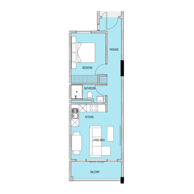 1 Bed Type B2