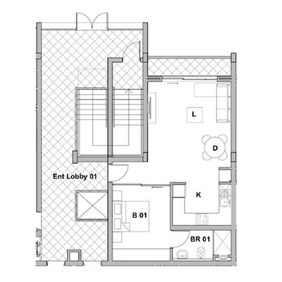 Apartment 604