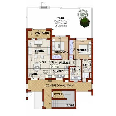 Apartment - Unit Type C