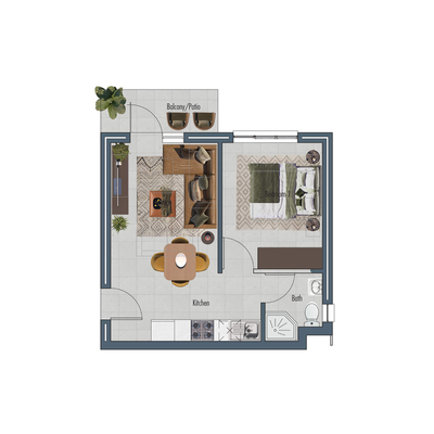 Apartment 38sqm