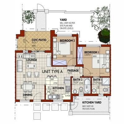 Townhouse - Unit Type A