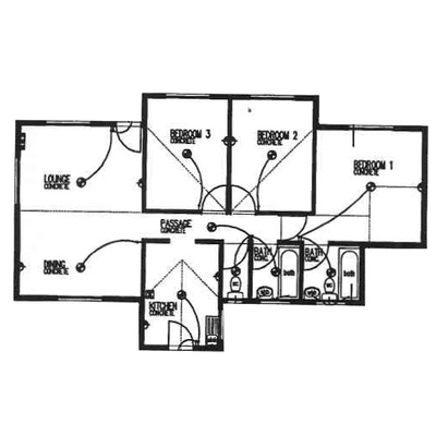 Plan 85 - 3 Bedroom