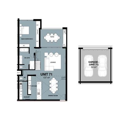 Loft units 70 / 71