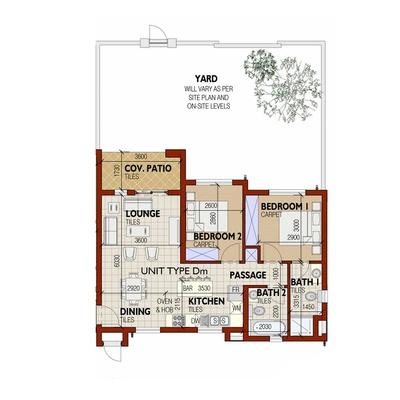 Apartment - Unit Type Dm