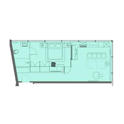 1 Bed Type 4