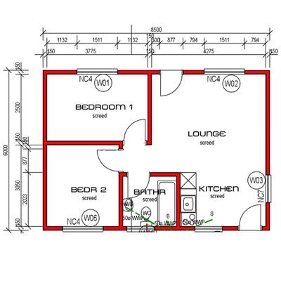 House 51m²