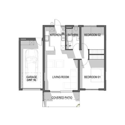 Ground Floor Apartment - Unit 16 and 17