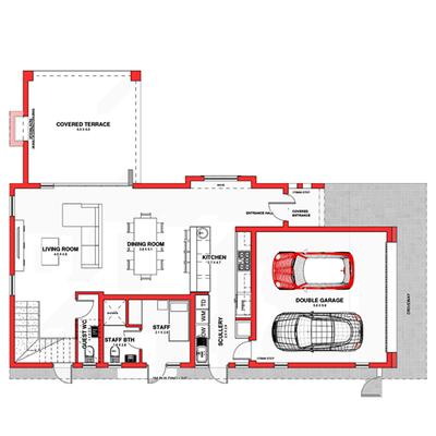 Type B2 (double storey)