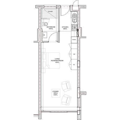 Studio standard layout